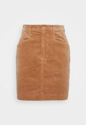 MOONSTONE - Pencil skirt - camel
