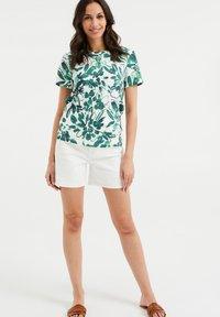 WE Fashion - Print T-shirt - white - 1