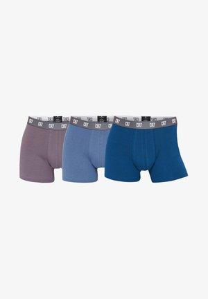 3ER PACK - Pants - blaubeige