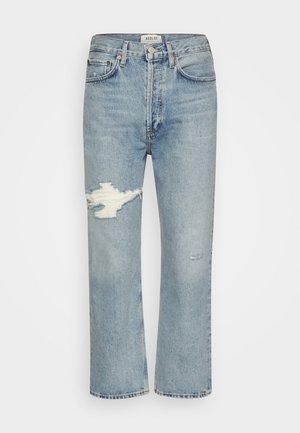 90'S CROP PANT  - Zúžené džíny - echo/light blue