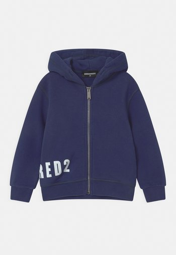 UNISEX - Zip-up sweatshirt - dark blue