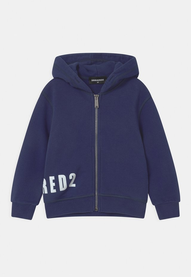 UNISEX - Zip-up hoodie - dark blue