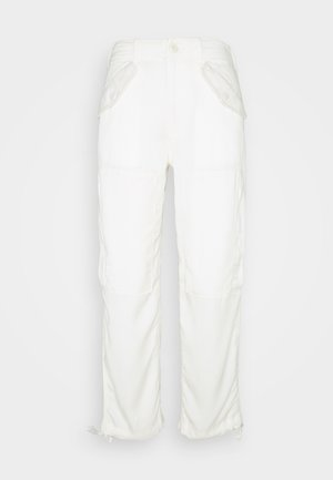 RELAXED PANT - Trousers - chic cream