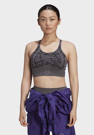 ADIDAS BY STELLA MCCARTNEY TRUEPURPOSE SEAMLESS LIGHT - Sujetador deportivo - grey