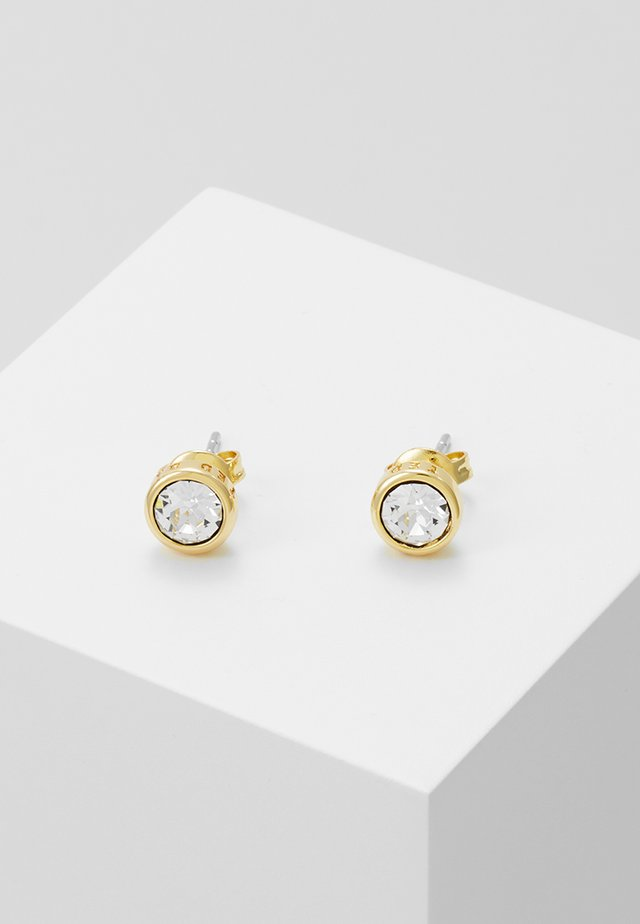 SINAA - Earrings - gold-coloured/crystal