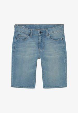 3301 BERMUDA - Shorts vaqueros - light blue