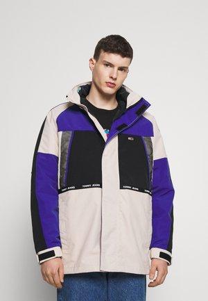 4 IN 1 JACKET UNISEX - Light jacket - smooth stone/multi