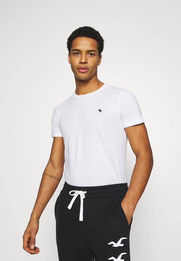 Abercrombie & Fitch ICON CREW 5 PACK - T-shirt basic - blue/granatowy Odzież Męska PDOO