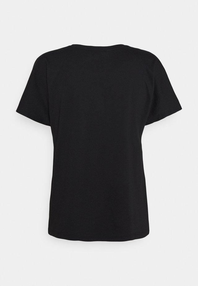 SEMBRO ROS - Jednoduché triko - black