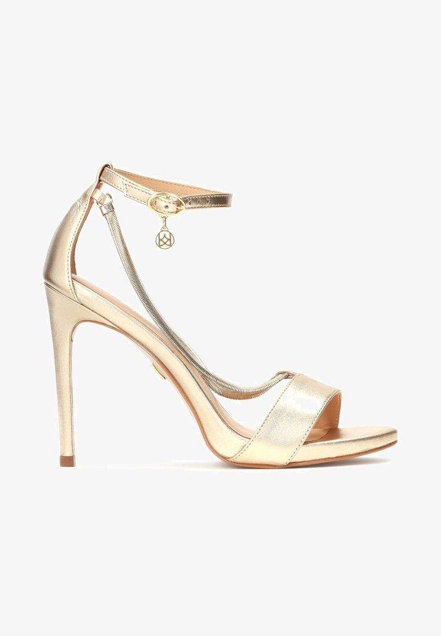 LAZURITE - Sandalen met hoge hak - gold