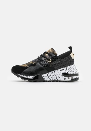 CLIFF - Trainers - black/gold
