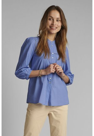 Button-down blouse - wedgewood