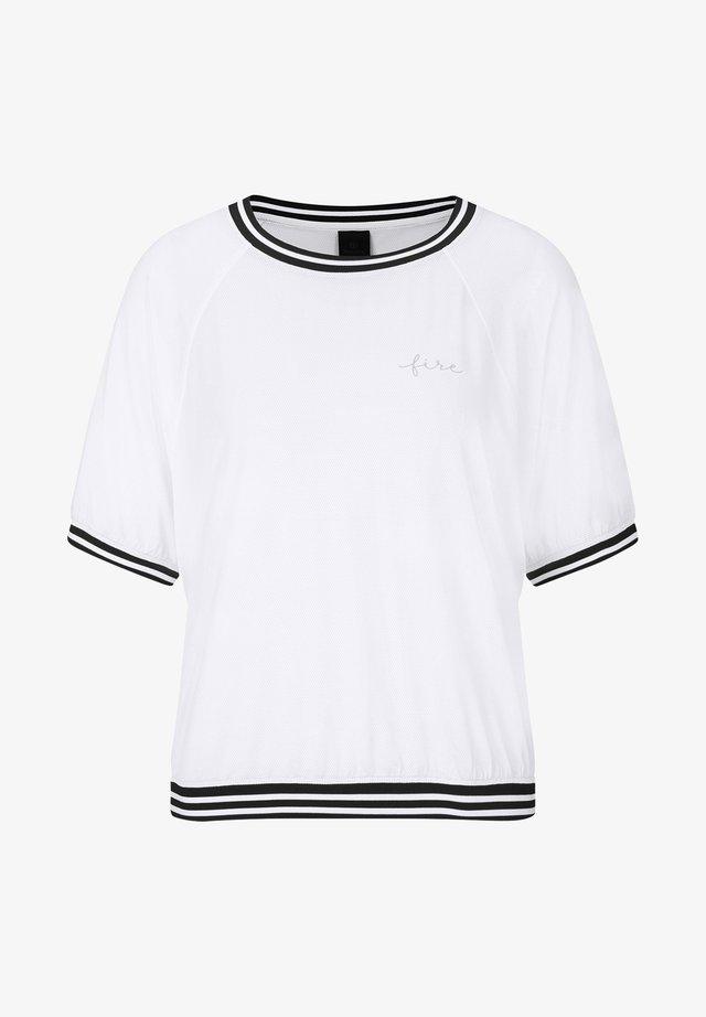 CANDICE - T-shirt imprimé - weiß
