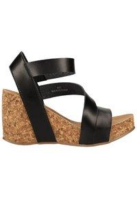 Blowfish Malibu - Platform sandals - black - 2