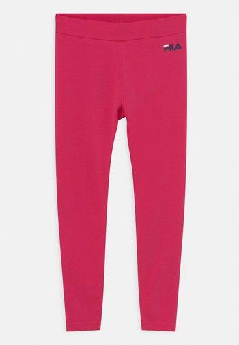 TIFFY LOGO UNISEX - Leggings - Trousers - bright rose