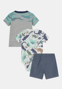 Carter's - CAMO SET - Print T-shirt - mottled grey/green - 1