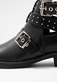 ONLY SHOES - ONLBIBI STUD  - Ankle boot - black - 2