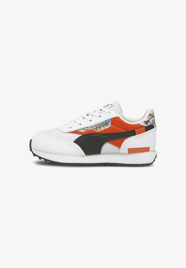 Sneakers basse - puma white-tigerlily