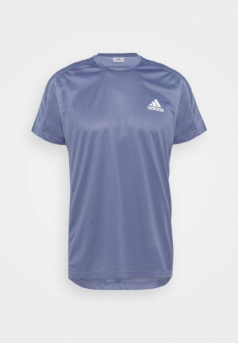 adidas Performance - OWN THE RESPONSE AEROREADY - Camiseta estampada - orbit violet