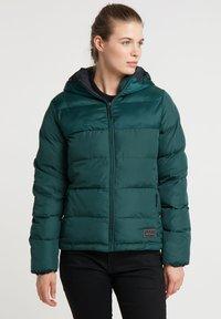 PYUA - Ski jacket - dark moss green - 0