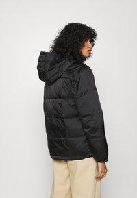 Obey Clothing - IRVING PUFFY COAT - Light jacket - black - 3