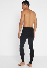 Icebreaker - OASIS LEGGINGS - Långkalsonger - black/monsoon - 2