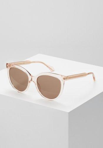 Okulary przeciwsłoneczne - pink/brown