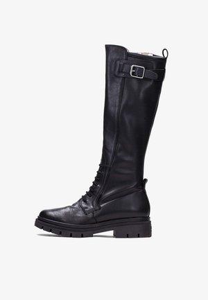 ALISON - Platform boots - black