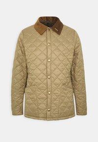WINTER HERITAGE LIDDESDALE QUILT - Light jacket - sand