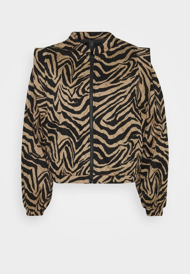 YASZEMA QUILTED  - Giubbotto Bomber - black