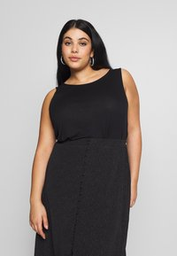 Even&Odd Curvy - Top - black - 2