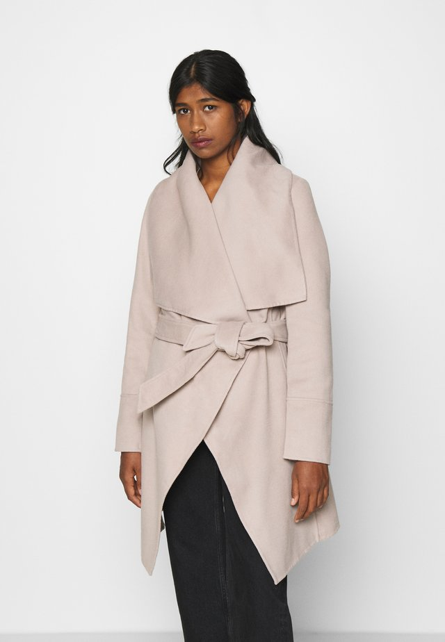WILLOW WRAP COATS - Manteau classique - mink