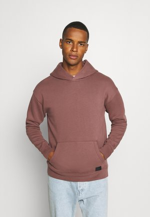 HOUR POPOVER - Hoodie - dark red