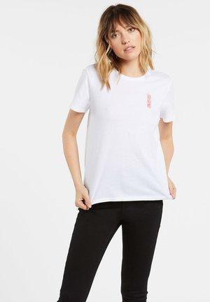 SIMPLY DAZE TEE - Basic T-shirt - white