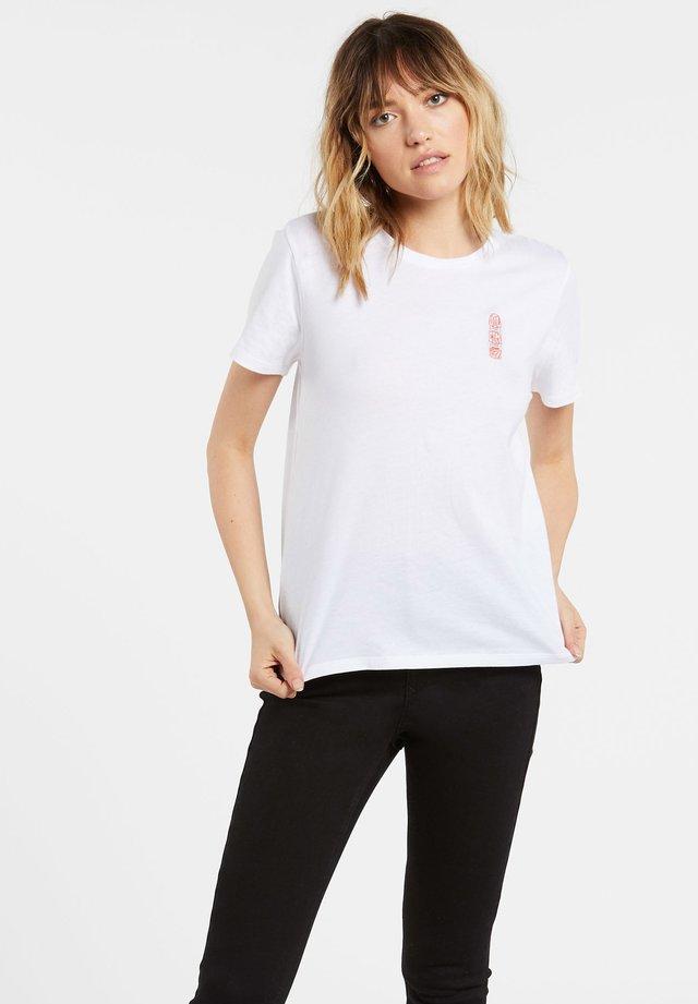SIMPLY DAZE - Basic T-shirt - white