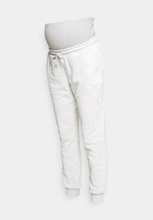 MATERNITY TRACK PANT - Pantalones deportivos - grey marle