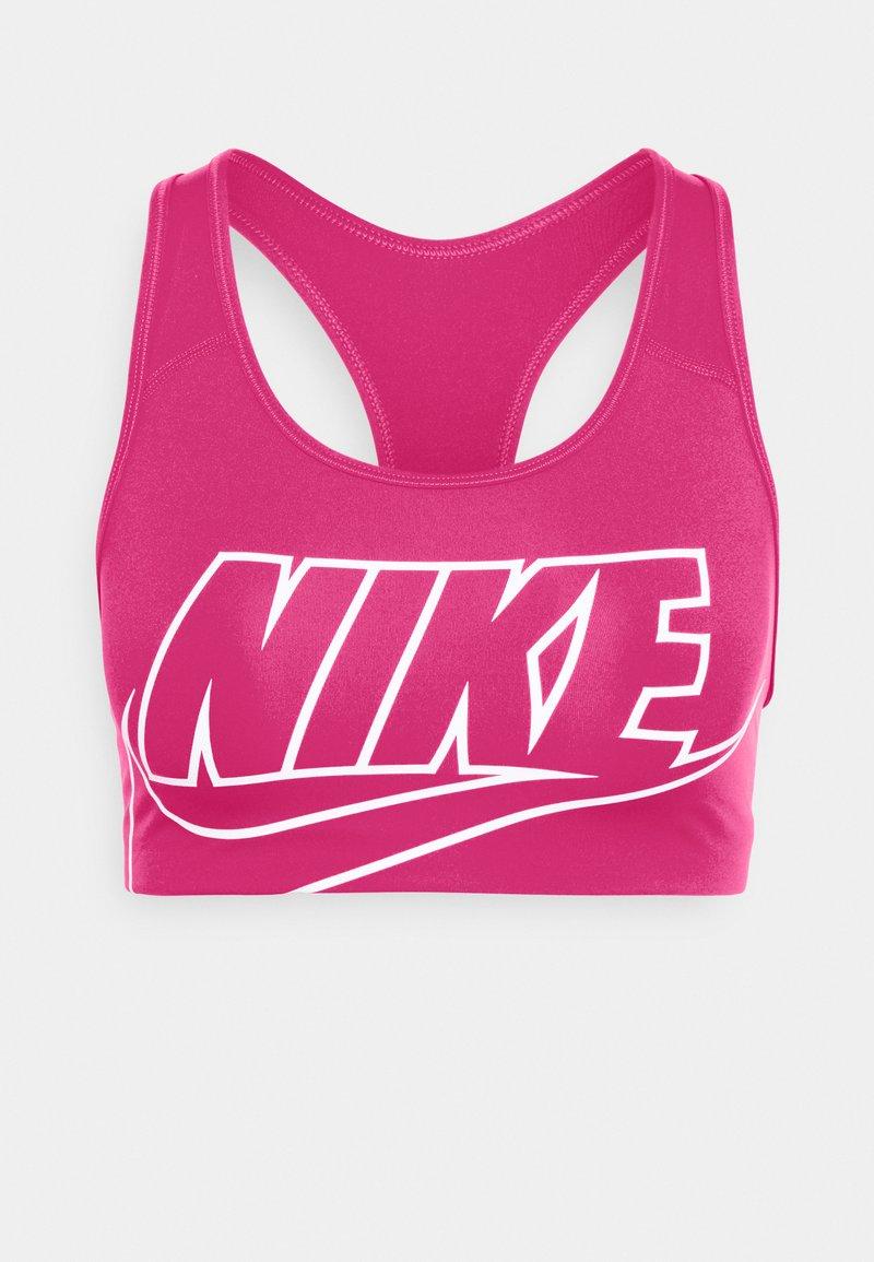 Nike Performance - FUTURA BRA - Sujetadores deportivos con sujeción media - fireberry/white