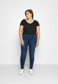 Noisy May Curve - NMCALLIE - Jeans Skinny Fit - medium blue denim - 1