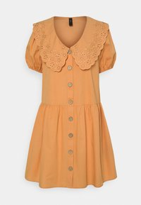 YAS - YASSOFFE DRESS  - Shirt dress - sandstone - 5