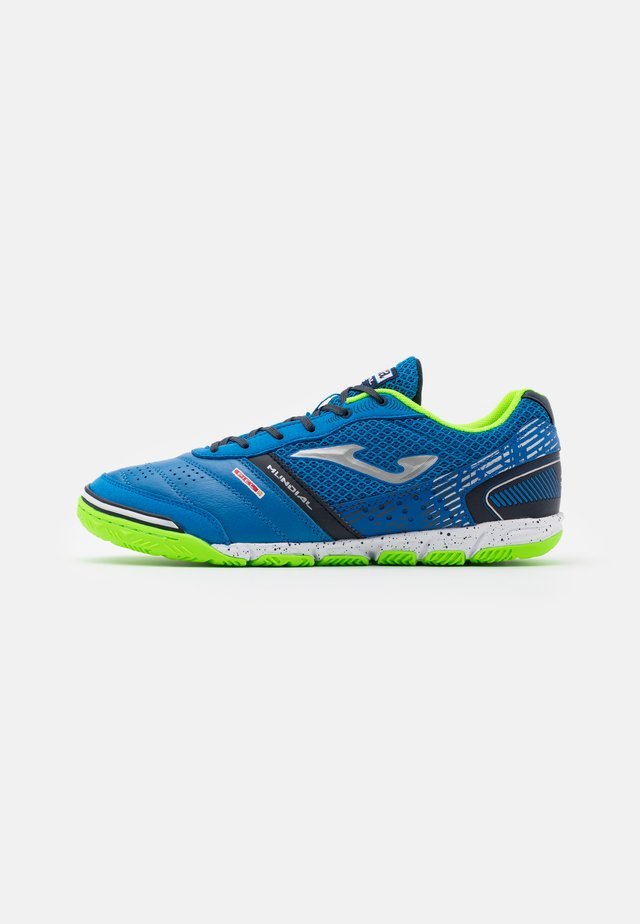 MUNDIAL - Chaussures de foot en salle - blue