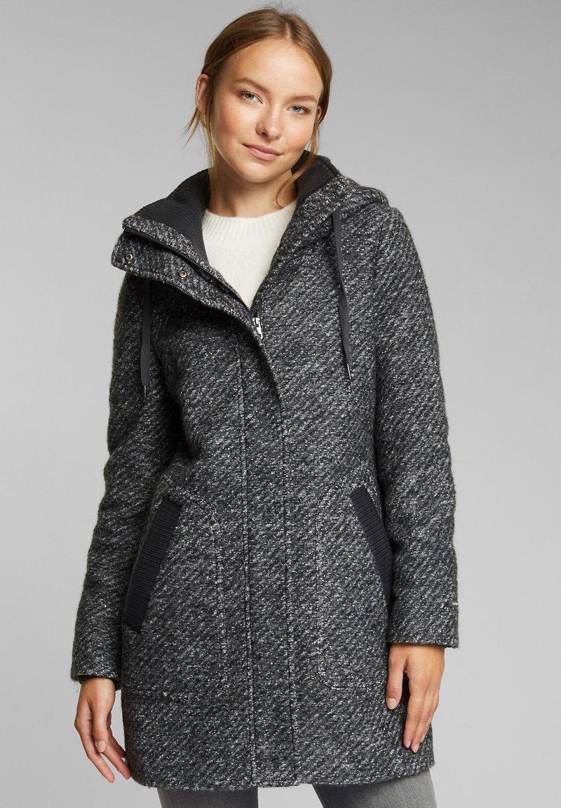 Esprit - Short coat - dark grey