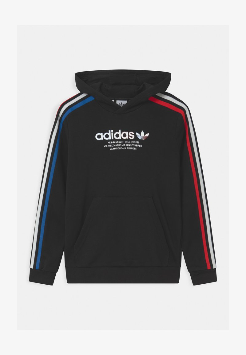 adidas Originals - HOODIE UNISEX - Sweatshirt - black