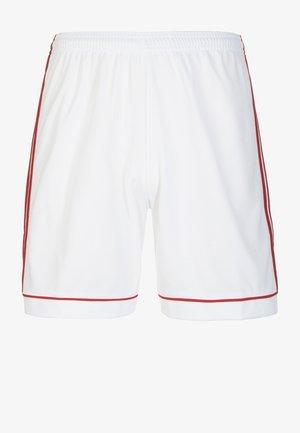 SQUADRA CLIMALITE FOOTBALL 1/4 SHORTS - Sports shorts - white/red