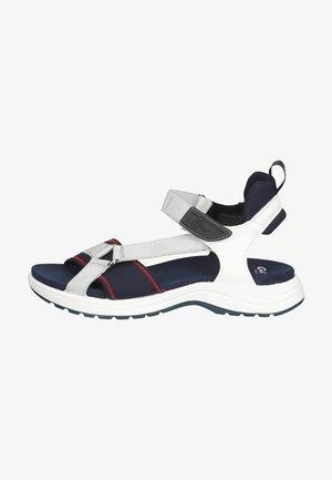 Sandales de randonnée - blau weiss