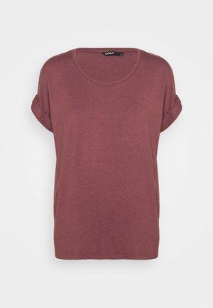 ONLMOSTER ONECK - T-shirt basic - rose brown