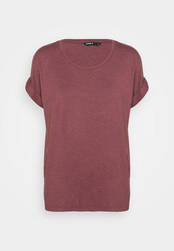 ONLMOSTER ONECK - Basic T-shirt - rose brown
