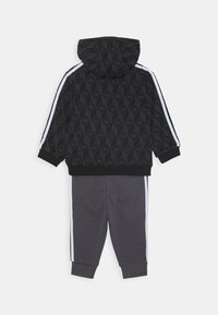 adidas Originals - HOODIE PACK SPORTS INSPIRED TRACKSUIT UNISEX - Dres - black/grey five/white - 1