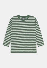 Lindex - MINI TOP ESSENTIAL UNISEX - Long sleeved top - green - 0