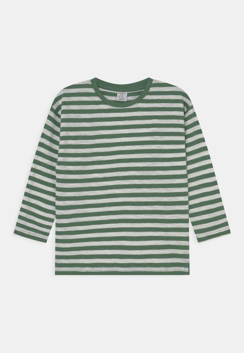 Lindex - MINI TOP ESSENTIAL UNISEX - Long sleeved top - green
