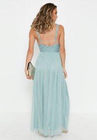 BEAUUT - EMBELLISHED SEQUINS  - Cocktail dress / Party dress - mint - 2